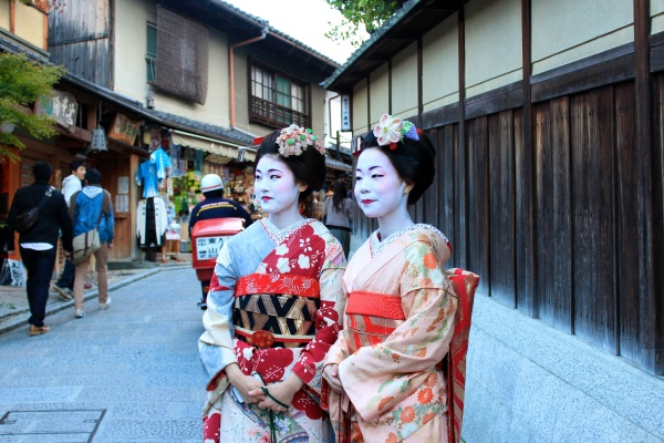 Geisha girls, Kyoto