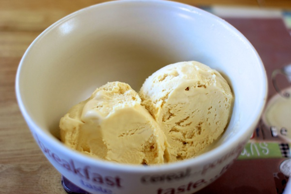 Roasted Almond Ice Cream